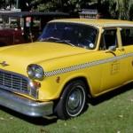 Checker 76 Taxicab A-11 Yellow sf444