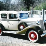 1934- Chevrolet Sedan