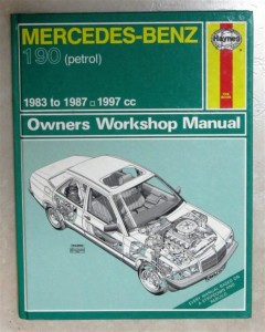 Rare Classic Car / Automotive Books / Manuals Mercedes-Benz 190 Petrol  Workshop Manual