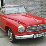 1960 Borgward Coupé  car-4