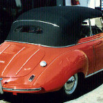 1954 DKW 3 = 6 Convertible AFTER restoration