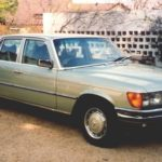 1980_Mercedes_Benz_350SE_Green