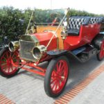 Ford 12 Model T Red-Black sf5