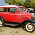 Ford 31 Model A Sedan Red ssf550