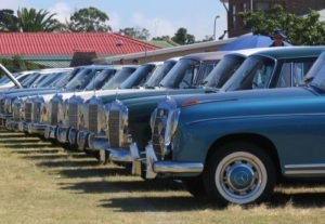 South Africa Classic Car Shows / Events Merc Car Show