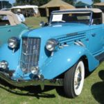 Auburn 36 Supercharged Roadster Blue sf22x