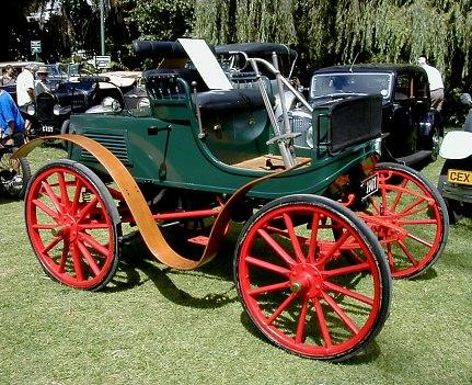 1901 Albion Station Dog Cart