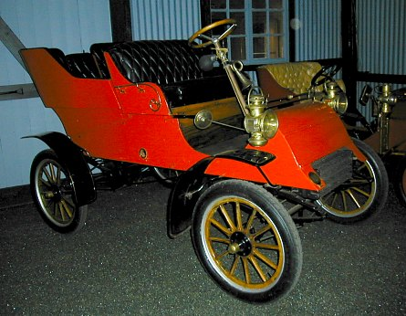 First Ford exported to a country outside North America
