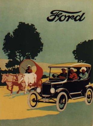 Ford Model T History 1908 1926 Sa Classic