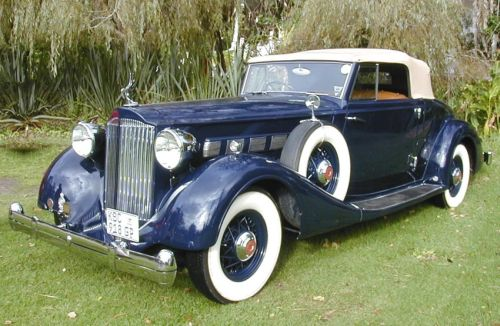 1935 Packard Super 8 Cabriolet Sa Classic