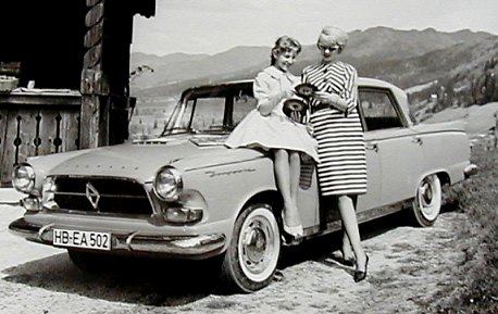 1960 borgward p-100 - SA Classic