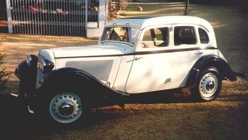 1937 Adler Junior Trumpf 1000cc - SA CLassic